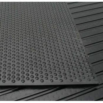 Anti-Fatigue | Studded Rubber Gym Mats