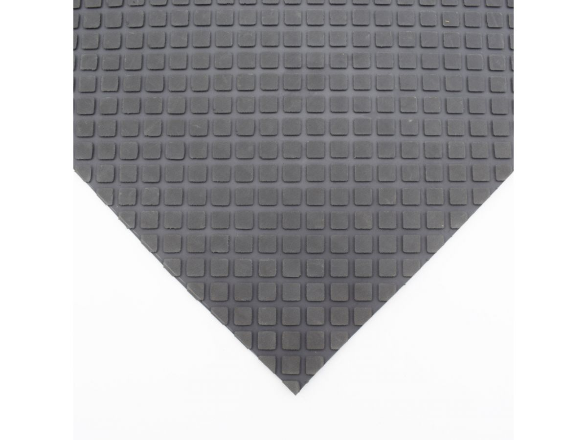 Anti Slip Rhombus Pattern Rubber Matting