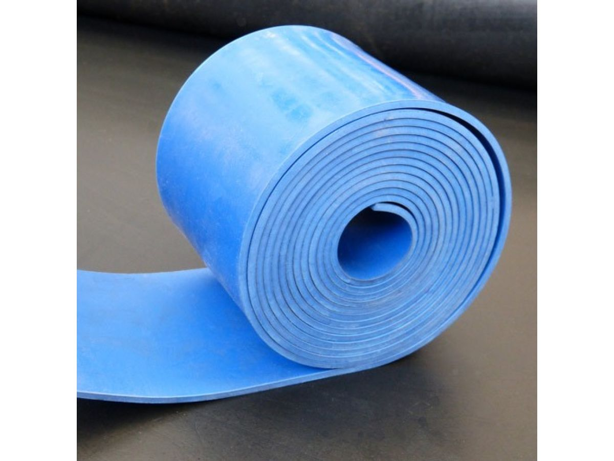 Blue Nbr Rubber Sheeting For Foods