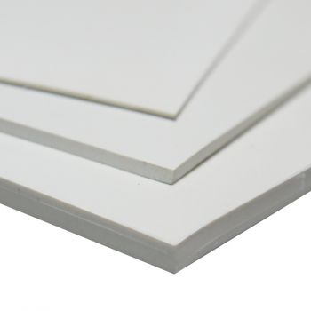 White NBR Rubber Sheeting for foods