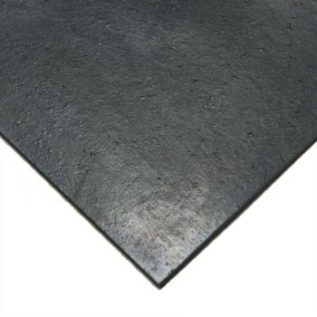 Black High Abrasion Rubber - 60° shore
