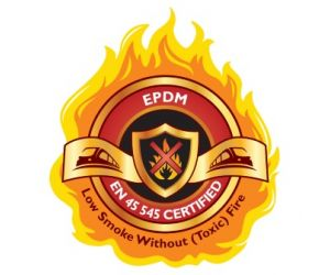 Flame-proof EPDM Sheet
