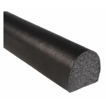 Semiround sponge rubber profiles