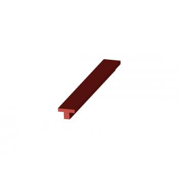 T-type silicone profile