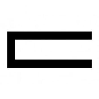 Edge Trim Profile with TR 1700 Square U Channel