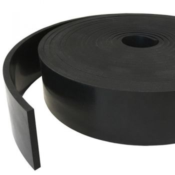 Solid rubber rectangular / square rubber profiles