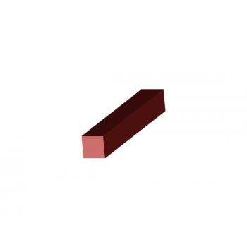 Square silicone profiles