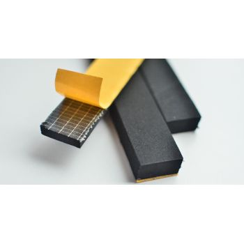 Sponge rubber rectangular / square rubber profiles