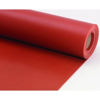 Red Silicone Sheeting - 60° Shore A - FDA approved