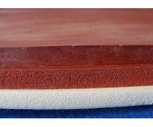Sponge silicone sheeting