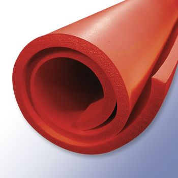 Red Sponge Silicone sheeting