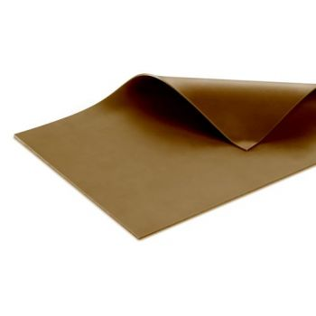 Silicone Membrane for vacuum forming - ELASTOMER 40 BROWN