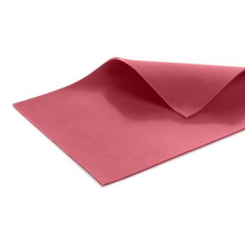 Silicone Membrane for vacuum forming - SILICONE 35 RED