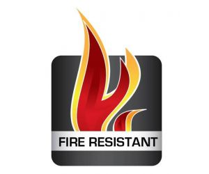 Flame retardant silicone profiles