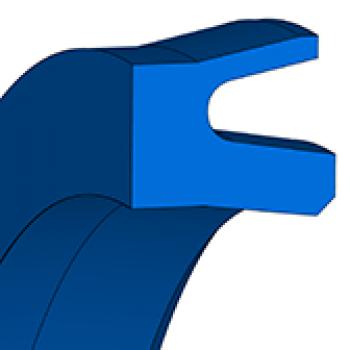 Pneumatic piston seal - U-ring NAPN