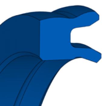 Pneumatic piston seal - U-ring TMP 21