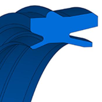 Pneumatic Rod Seals AU NIPSL