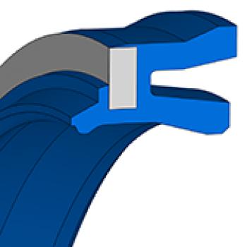 Pneumatic Rod Seals NIPSL