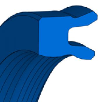 Pneumatic Rod Seals - U-RING TMP 20