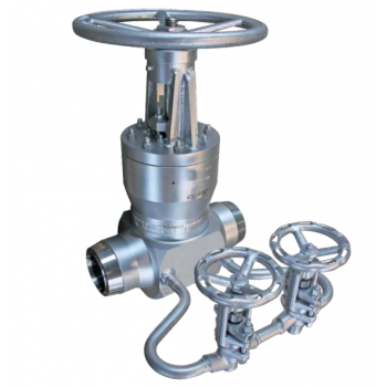 Fully welded gate valve - low temperature