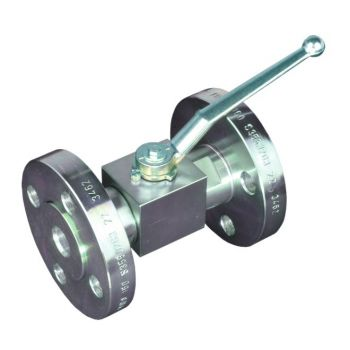High pressure ball valve - block type - SAE, DIN, ANSI Flanged