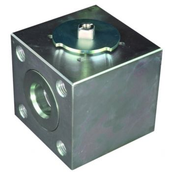 High pressure ball valve - block type - ISO Flanged