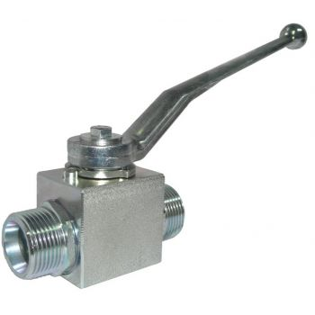 High pressure ball valve - block type - threaded