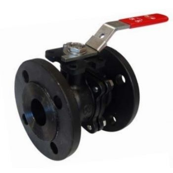 Carbon Steel Ball Valve - 2 piece body - Flanged - PN20