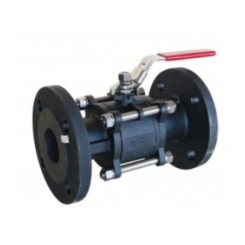 Carbon steel ball valve - 730 Series - Flanged PN40 - 3 pieces