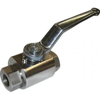 High pressure - stainless ball valve