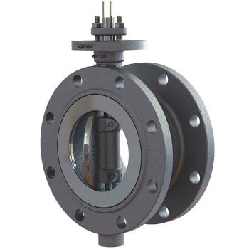 Butterfly Valve - Carbon Steel - Double Flanged, PTFE Lined