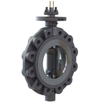 Butterfly Valve -  Carbon Steel  - Lug type & Tapped, PTFE Lined
