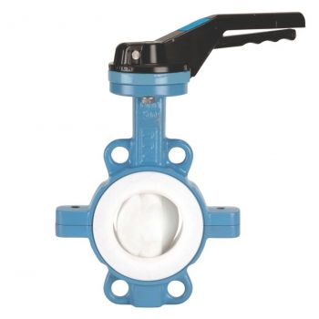 Butterfly Valve - ductile iron GGG-50, AISI 316 Disc - PN16 - Wafer Type, PTFE seat