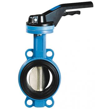 Butterfly Valve - ductile iron GGG-50, AISI 316 Disc - PN16 - Wafer Type, NBR