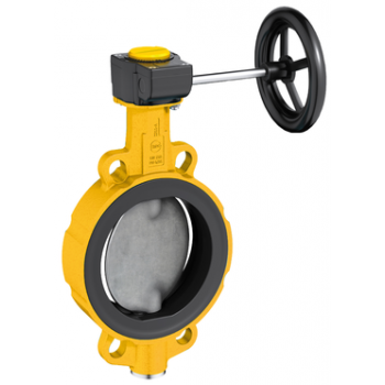 Butterfly Valve for Gas - Z 011-A GAS - PN16