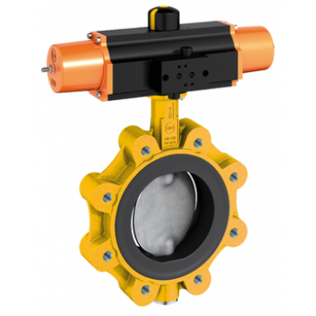 Butterfly valve for gas - Z014-A GAS - PN16