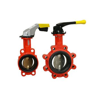 Butterfly Valve for gas - PN6