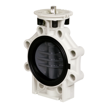 PVC-U Butterfly Valve K4 with adapter plate