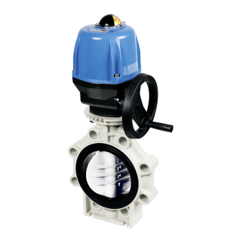 PP Butterfly Valve K4 Electric Actuator Valpes