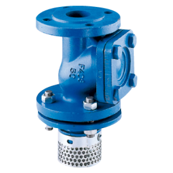 Ball check valve - type 308 - viscous, loaded or thick liquids