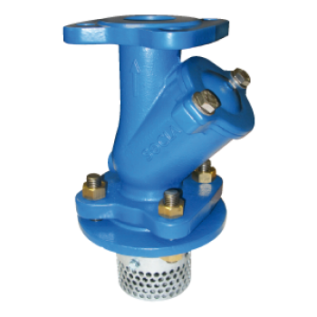 Ball check valve - type 318 - viscous, loaded or thick liquids