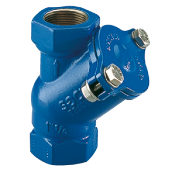 Ball Check Valve 508 - waste water, viscous and loaded liquids