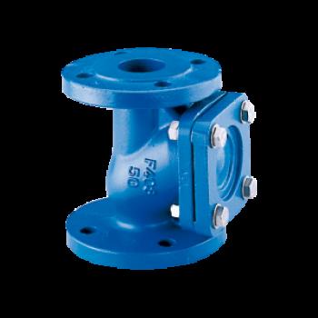 Ball check valve - type 408 - wastewater , slurries , viscous , sanitation