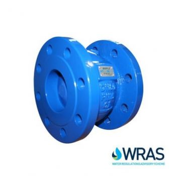 Cast Iron Flanged Axial Disc Check Valve - WRAS