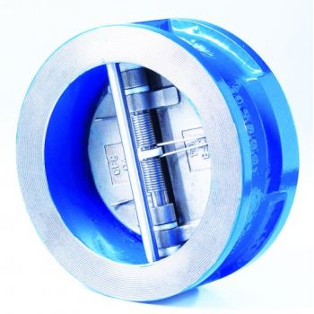 Dual plates check valve - ductile iron