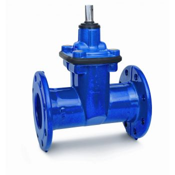 Enamelled - Resilient seated gate valve - GGG-50