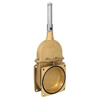 Brass Vacuum Tanker Gate Valve with Hydraulic Jack
