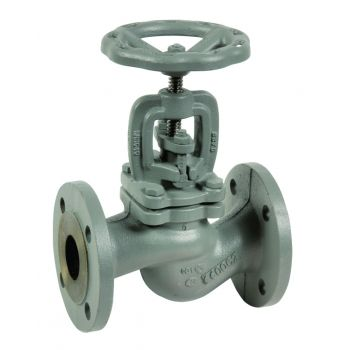 Globe valve - cast iron - RF PN16 - for steam and high temperature