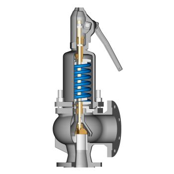 Low-Pressure Safety Valve for Liquids Si 2501