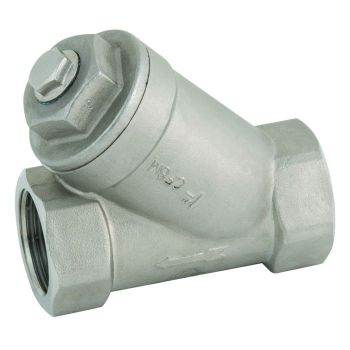Stainless Y strainer - NPT Threaded - up to 25 bar